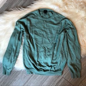 J. Crew Mint Sweater